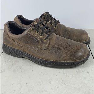 Merrell World Rambler Dark Earth Oxford Shoes Sz 9